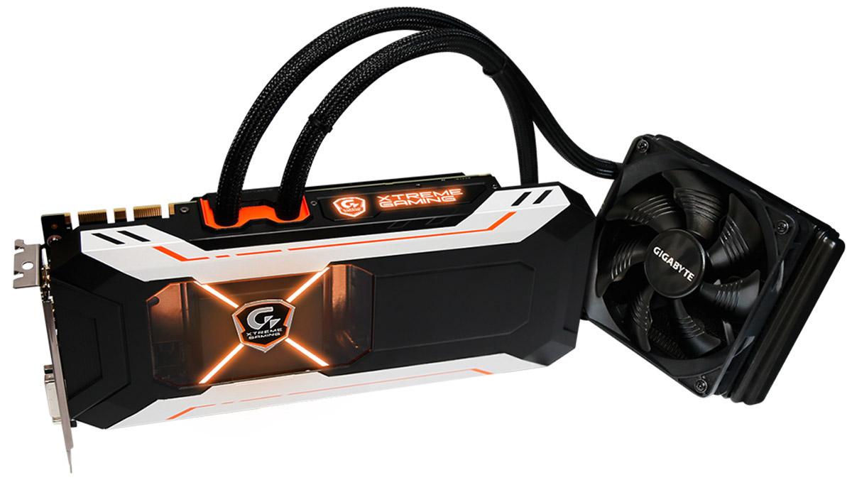 Gigabyte GeForce GTX 1080 Xtreme Gaming Water Cooling 8GB видеокарта 1080 gtx xtreme gaming
