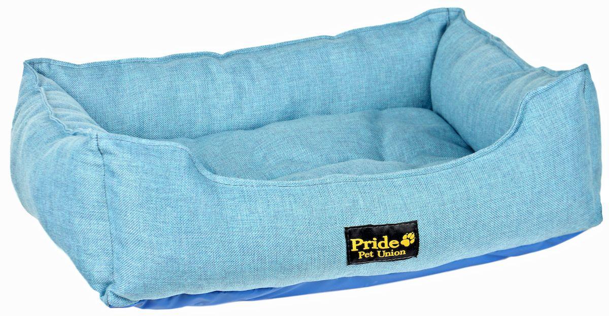 Лежак для животных Pride Прованс, цвет: голубой, 52 х 41 х 10 см10012220Лежак Pride Прованс непременно станет любимым местомотдыха вашего домашнего животного. Изделие выполнено изполиэстера, а наполнитель - из холлофайбера. Такой материалне теряет своей формы долгое время.Внутри имеется мягкая съемная подстилка.На таком лежаке вашему любимцу будет мягко и тепло. Онподарит вашему питомцу ощущение уюта и уединенности.