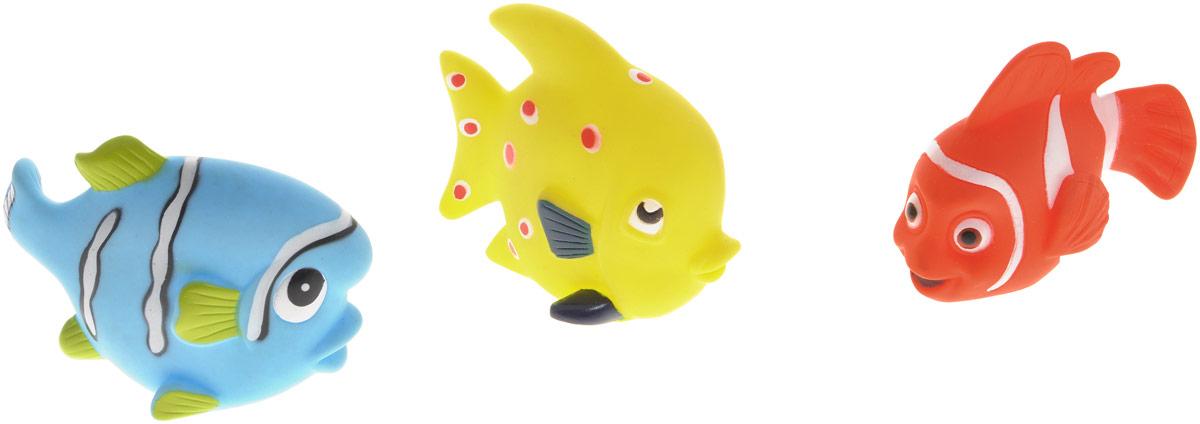 Жирафики Набор игрушек для ванной Маленькие рыбки 3 шт все цены