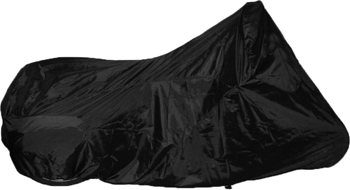 Чехол AG-brand, для мотоцикла, универсальный, цвет: черный. Размер LAG-Uni-MC-LBK-SCУниверсальный чехол AG-brand, изготовленный из прочной водонепроницаемой ткани, предназначен для хранения мотоциклов. Резинка у переднего и заднего колес в совокупности с застежкой снизу мотоцикла не позволит самым сильным порывам ветра сорвать чехол. Чехол подходит для мотоциклов разных производителей и классов. Ширина чехла указана по рулю. Чехол для транспортировки и хранения входит в комплект.
