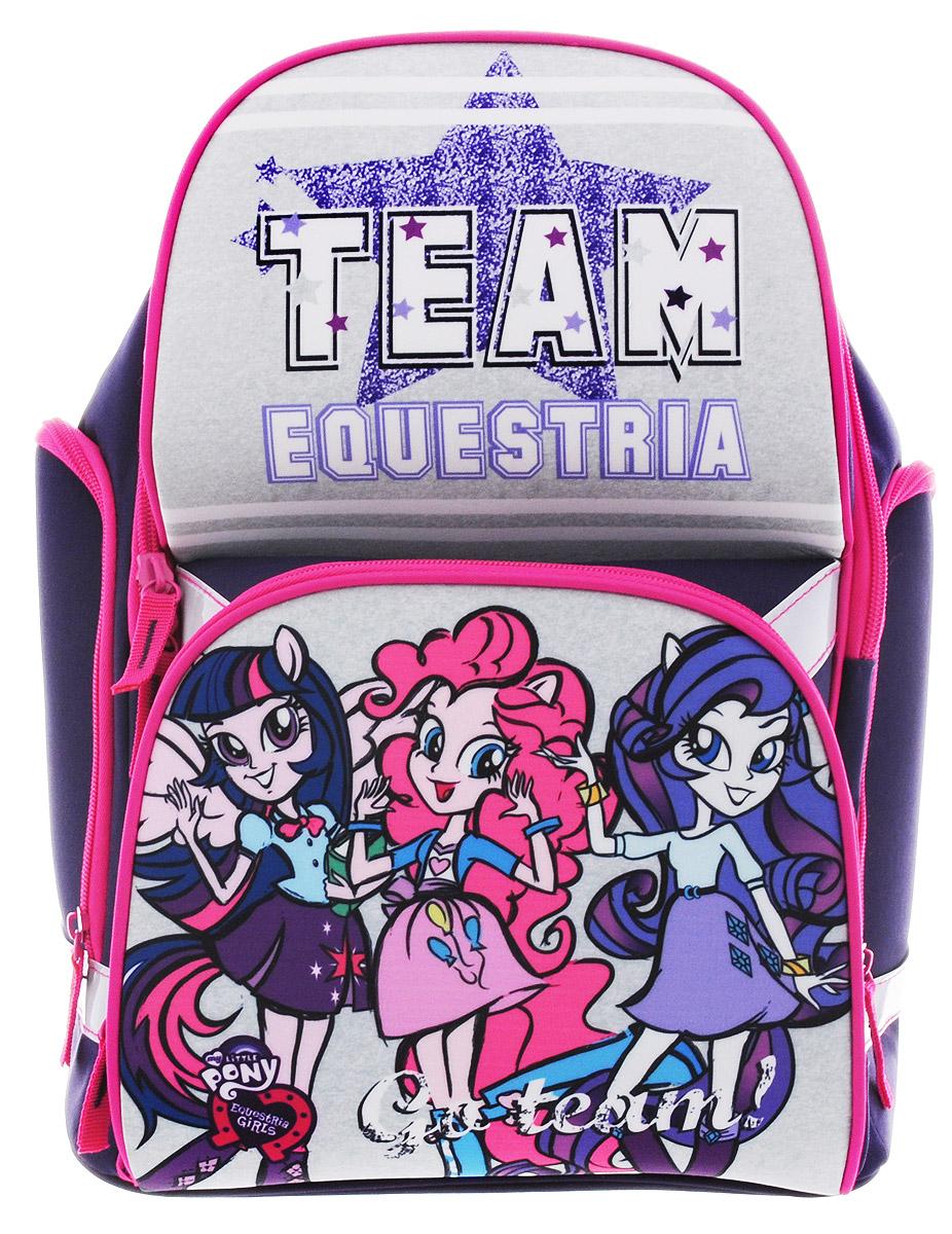 My Little Pony Equestria Girls Рюкзак детский Team Equestria my little pony equestria girls кукла легенда вечнозеленого леса эпл джек