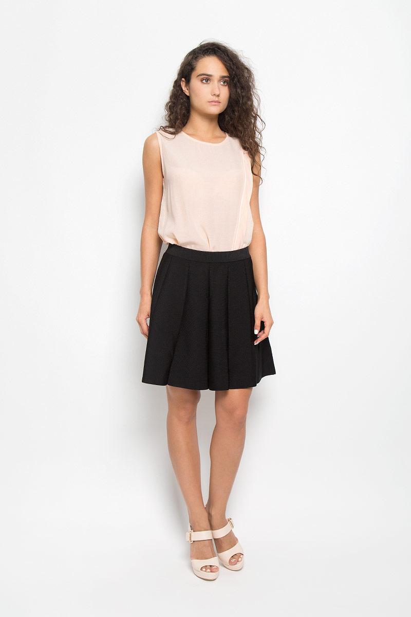 Топ женский Mexx, цвет: персиковый. MX3020508_WM_TTP_003. Размер L (48/50) блузка женская mexx цвет молочный mx3002363 wm blg 010 размер l 48 50