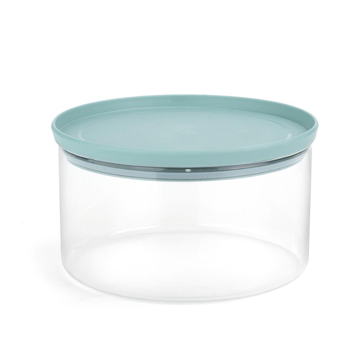 Банка для сыпучих продуктов Brabantia, 2,5 л. 110641110641Печенье и другие продукты дольше сохраняют свежесть – герметичная крышка. Хорошо видно содержимое и его объем – прозрачное стекло. Легко моются – банки и крышки можно мыть в посудомоечной машине. Экономия места – модульная конструкция: банки составляются одна на другую.