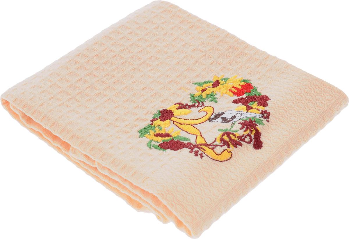 Полотенце кухонное Soavita Птица, 60 х 40 см48804_птицаКухонное полотенце Soavita Птица, выполненное из 100% хлопка, оформлено вышитым рисунком. Изделие предназначено для использования на кухне и в столовой.Такое полотенце станет отличным вариантом для практичной и современной хозяйки.Рекомендуется стирка при температуре 40°C.