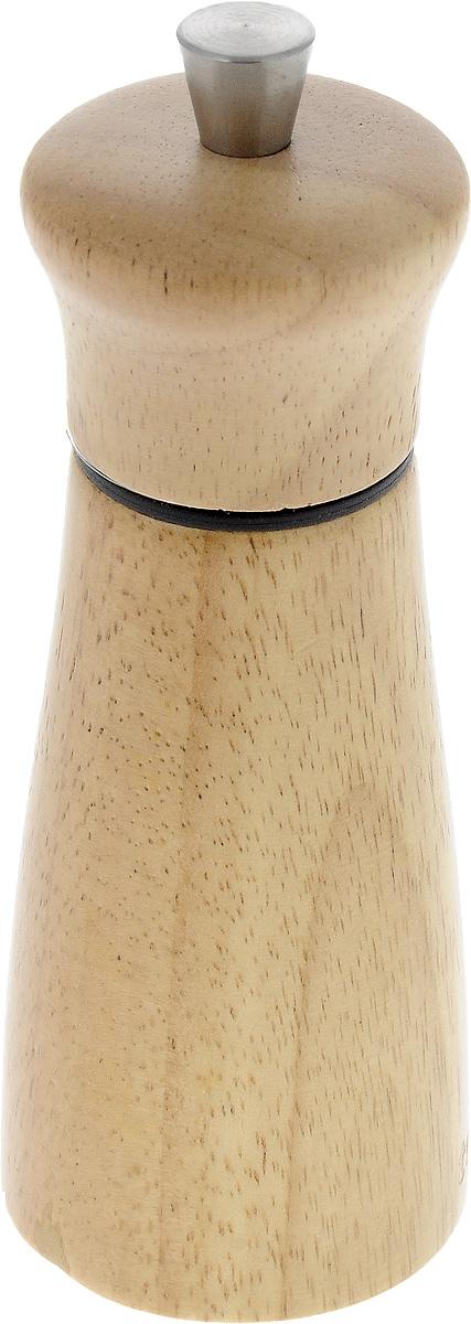 Мельница для перца и соли Tescoma Virgo Wood, высота 14 см658220Мельница для перца и соли Tescoma Virgo Wood - отличное приспособление для приготовленияблюд с различными видами только что свежемолотого перца и соли. Изделие имееткерамическиймеханизм размола и регулировку степени грубости помола перца и соли. В комплектепредусмотрены 2 цветных насадки-кольца - для перца и соли. Мельница выполнена изблагородной древесины - бразильского каучука (Hevea brasiliensis).Не предназначена для мытья в посудомоечной машине.