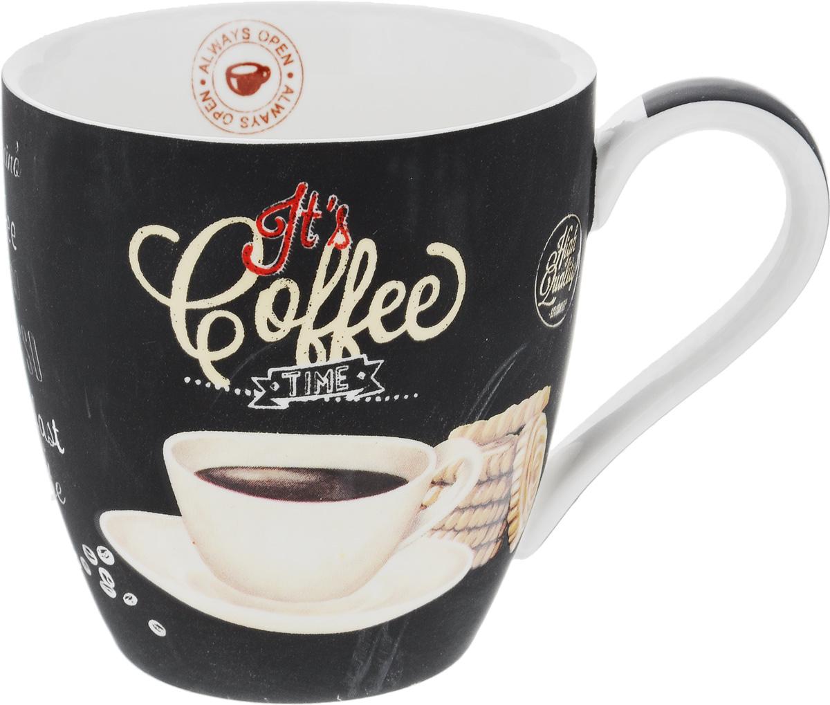 Кружка Nuova R2S Espresso, 350 млR2S1010/ICTW-ALКружка Nuova R2S Espresso изготовлена из высококачественногофарфора. Внешние стенки изделия оформлены рисунком в виде чашки кофе. Такаякружка станет неизменным атрибутом домашнего чаепития, апить любимый напиток из нее будет еще приятнее. Можно использовать в СВЧ и мыть в посудомоечной машине. Диаметр (по верхнему краю): 9 см. Высота кружки: 9,5 см.Объем: 350 мл.