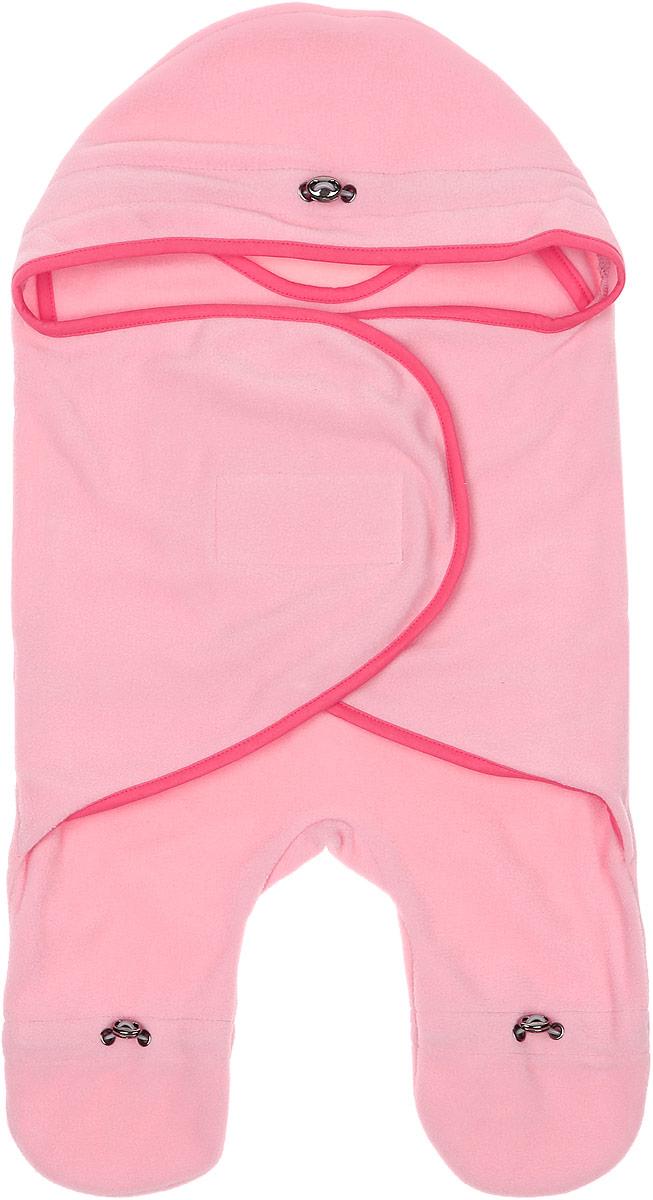 Комбинезон-конверт для новорожденного Mums Era Фламинго, цвет: розовый. 34335. Размер 54/62, 0-3 месяца34335Комбинезон-конверт Mums Era Фламинго подойдет как для выписки из роддома, так и для повседневного использования. Изделие выполнено из двустороннего флиса (100% полиэстер). Материал необычайно мягкий, тактильно приятный, хорошо пропускает воздух, не раздражает нежную кожу ребенка.Благодаря штанинам комбинезон удобен для поездок малышки в автокресле или в люльке (где ее нужно пристегнуть). На изделии имеется специальная вставка под подгузник для дополнительного объема. Рукава комбинезона дополнены удобной застежкой-липучкой, что позволяет спеленать ребенка как потуже, так и посвободнее. На капюшоне, талии и штанинах предусмотрена регулировка объема в виде эластичных шнурков со стопперами. Шея и грудь утеплены дополнительным слоем флиса. По краям комбинезон-конверт оформлен окантовкой.Комбинезон-конверт - удобная и многофункциональная одежда для первых месяцев жизни младенца. Он защитит малышку от холода и сквозняка, а также подарит ощущение тепла, уюта и комфорта!