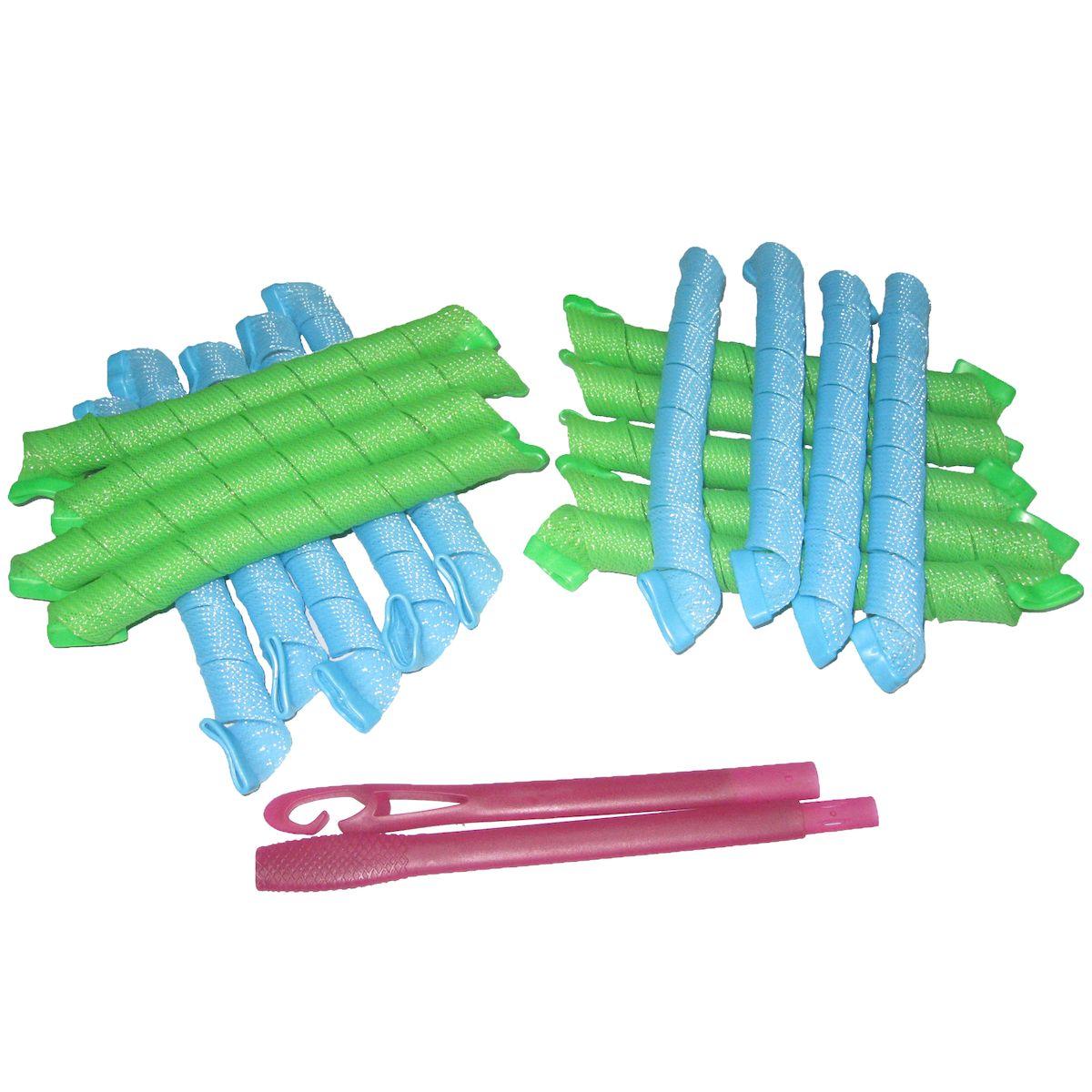 Magic Leverage Волшебные бигуди Средние 44 см, 18 штСр44Создают большой объем,обеспечивают бережное отношение к волосам,легки в использовании.В упаковке 18 цветных бигуди, длиной 44 см (в развернутой виде), и специальный крючок. При использовании, желательно, чтобы влажность волос была в пределах 60-70%.Характеристики:Длина: 44 смШирина локона: 2 смДиаметр завитка: 2,2 смКоличество: 18 шт.Крючок: двойнойУпаковка: коробка Уважаемые клиенты!Обращаем ваше внимание на цветовой ассортимент товара. Поставка осуществляется в зависимости от наличия на складе.