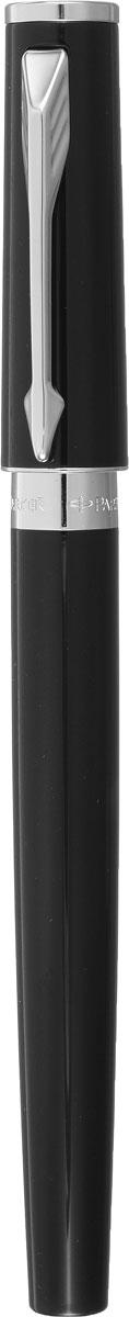 Parker Ручка перьевая 5th Slim Black Laque CT цвет черный шапочка pu ct cp 1pc metsil black