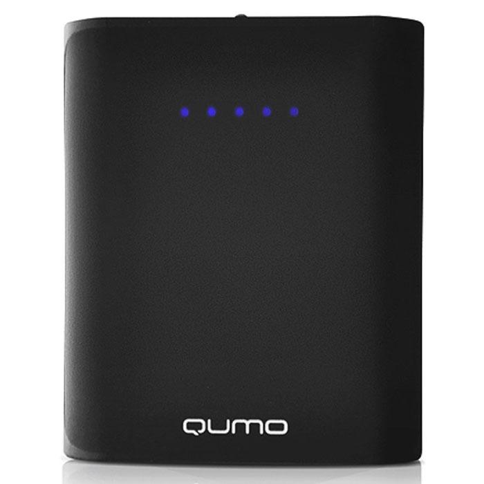 QUMO PowerAid 6600, Black внешний аккумулятор21096QUMO PowerAid 6600 - мобильный внешний аккумулятор, предназначенный для подзарядки таких устройств как телефон, плеер, планшет, цифровой камеры, электронная книга. Это устройство будет великолепным помощников в ситуации, когда вы находитесь вне дома, а у нужного устройства закончился заряд батареи. Данная модель имеет два USB - разъема, через которые будет происходить заряд необходимого устройства. На корпусе имеется световой индикатор, который будет сигнализировать о состояние заряда внешнего аккумулятора.