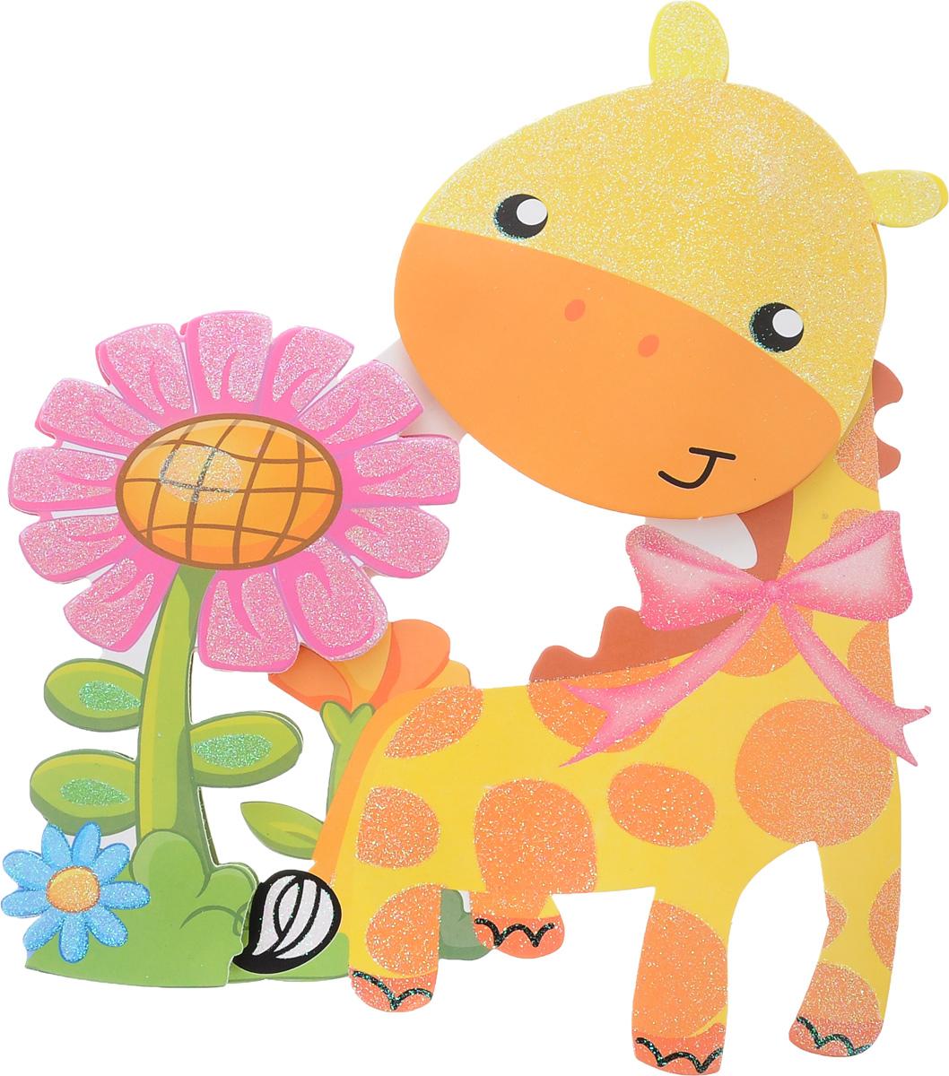 Наклейка декоративная Феникс-Презент Жираф, самоклеющаяся, 35,5 х 25 см феникс презент