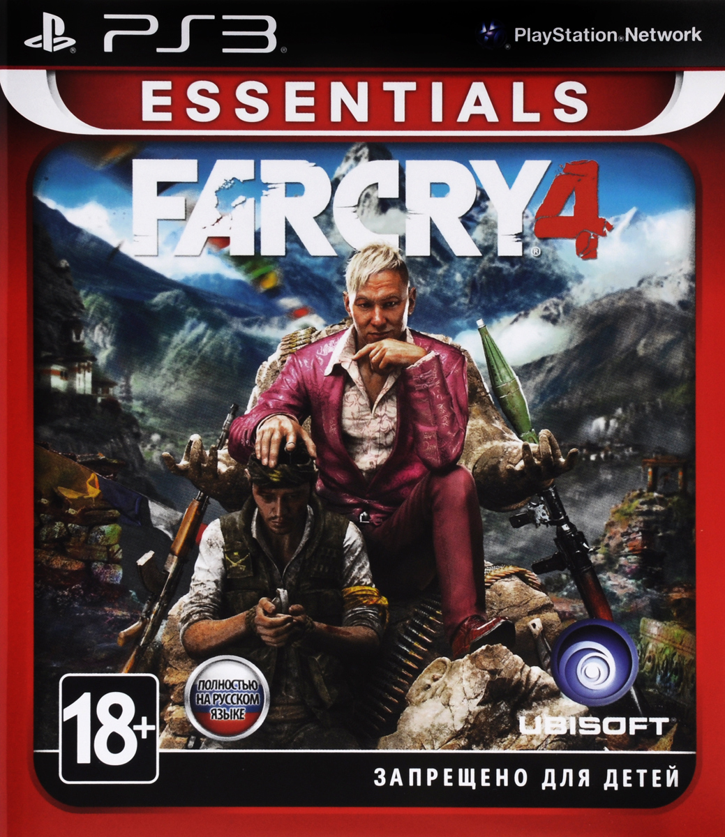 Far Cry 4. Essentials (PS3)