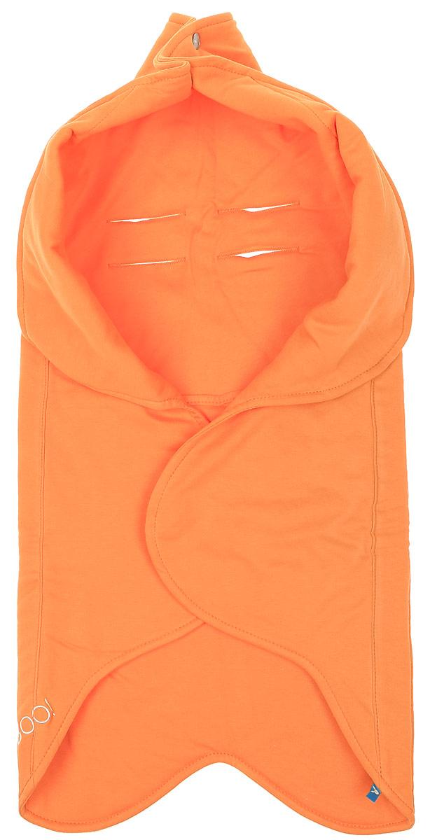 Конверт-лепесток для новорожденного Wallaboo, цвет: оранжевый. WF.0310.1910. Размер 0 месяцевWF.0310.1910Конверт-лепесток для новорожденного Wallaboo станет замечательным дополнением к детскому гардеробу. Конверт в форме цветка выполнен из натурального хлопка. Материал мягкий и нежный, приятный на ощупь, не раздражает кожу с повышенной чувствительностью. В качестве наполнителя используется полиэстер.На конверте предусмотрен карман для ног малыша, чтобы сохранить маленькие ножки в тепле. Верхняя часть конверта с помощью кнопок образует капюшон. Конверт легко раскладывается, благодаря чему его можно использовать в качестве одеяла или коврика для игр. Застежки в виде липучек и кнопок позволяют быстро зафиксировать конверт и обеспечивают надежное облегание, которое не ограничивает движения малыша и подарит ему чувство тепла, комфорта и защищенности. На спинке имеются прорези, предназначенные для фиксации ребенка ремнем безопасности в автокресле. Украшена модель вышитым логотипом бренда. Многофункциональный и удобный конверт идеально подойдет для первых месяцев жизни младенца. Он сделает отдых и прогулки малыша уютными и комфортными.