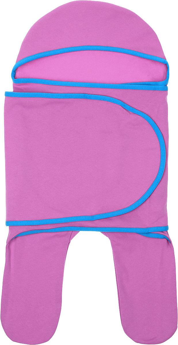 Комбинезон-конверт для новорожденного Mum's Era Маджента, цвет: розовый. 35148. Размер 54/62, 0-3 месяца конверты трансформеры mums era комбинезон конверт трикотаж