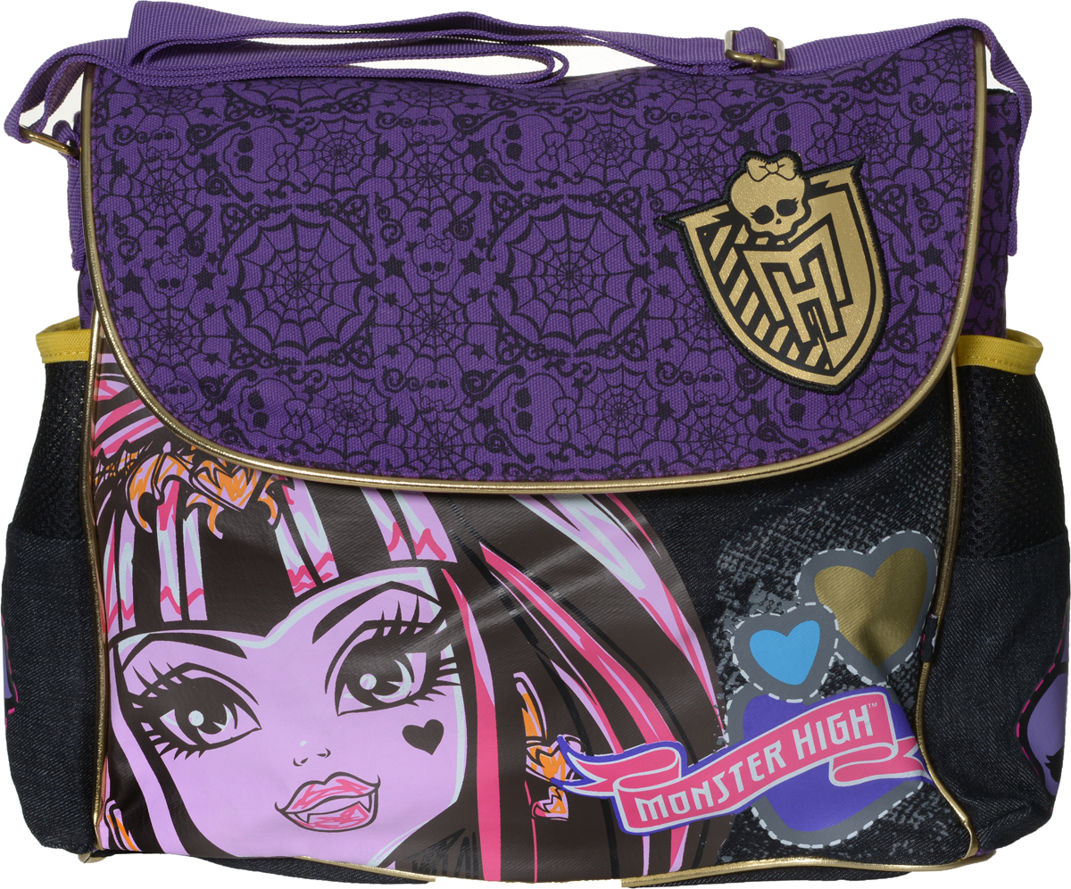 Centrum Сумка школьная Monster High 86056 centrum сумка monster high 27 24 3 см