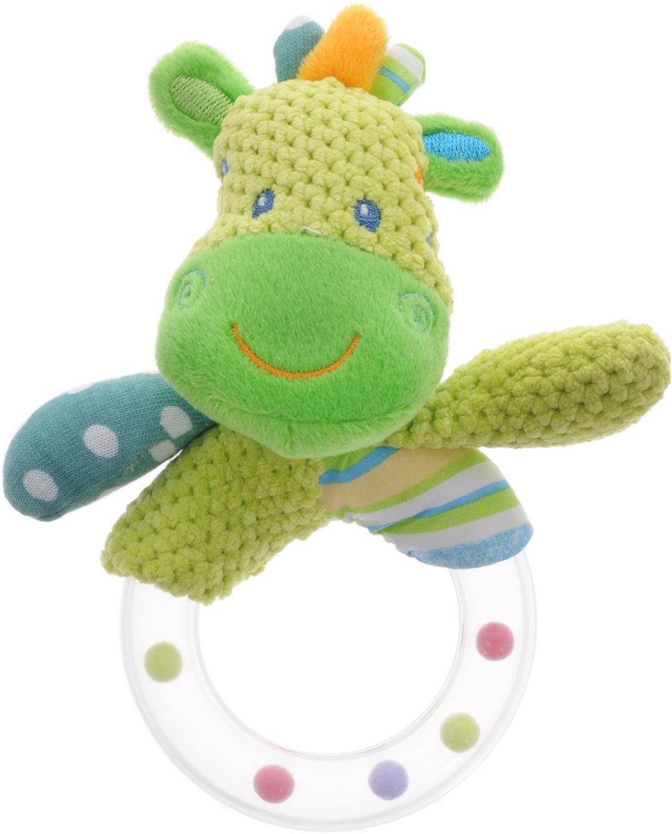 Жирафики Погремушка Зебра жирафики развивающая игрушка цветной мячик в ассорименте жирафики