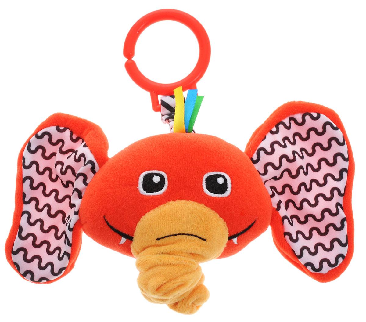 Жирафики Музыкальная игрушка-подвеска Слоник жирафики развивающая игрушка подвеска веселые малыши