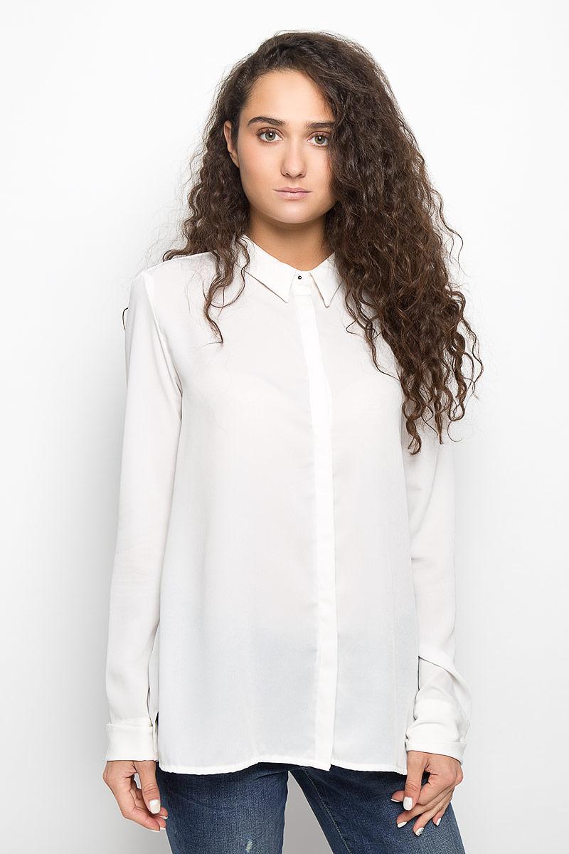 Блузка женская Mexx, цвет: молочный. MX3002118_WM_BLG_011. Размер M (44/46) цена 2017