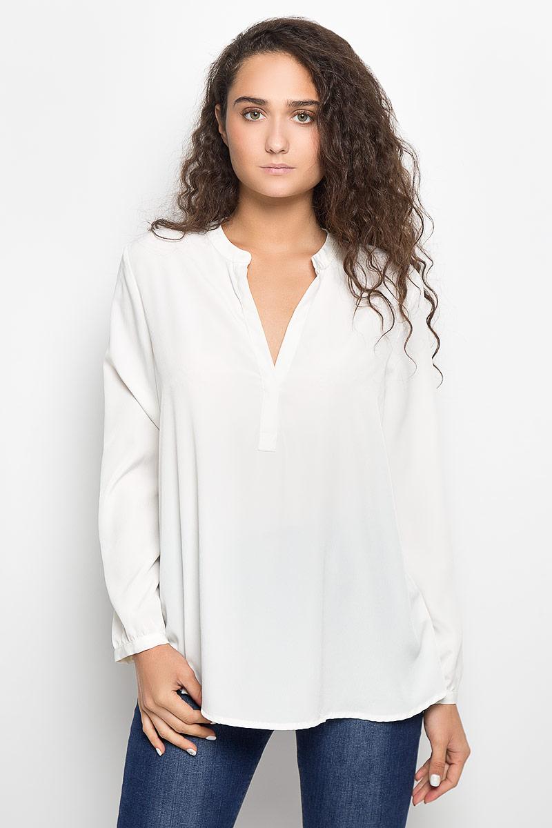 Блузка женская Mexx, цвет: молочный. MX3002363_WM_BLG_010. Размер M (44/46) цена 2017
