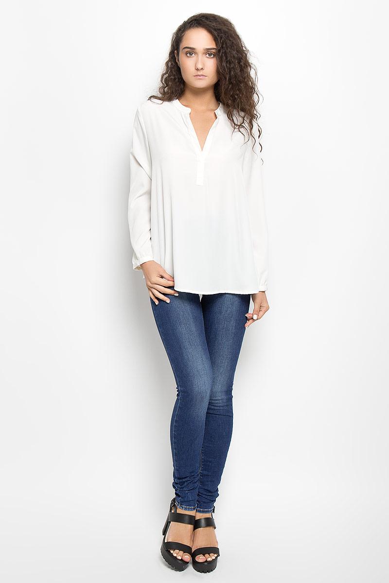 Блузка женская Mexx, цвет: молочный. MX3002363_WM_BLG_010. Размер M (44/46) блузка женская mexx цвет молочный mx3002363 wm blg 010 размер l 48 50