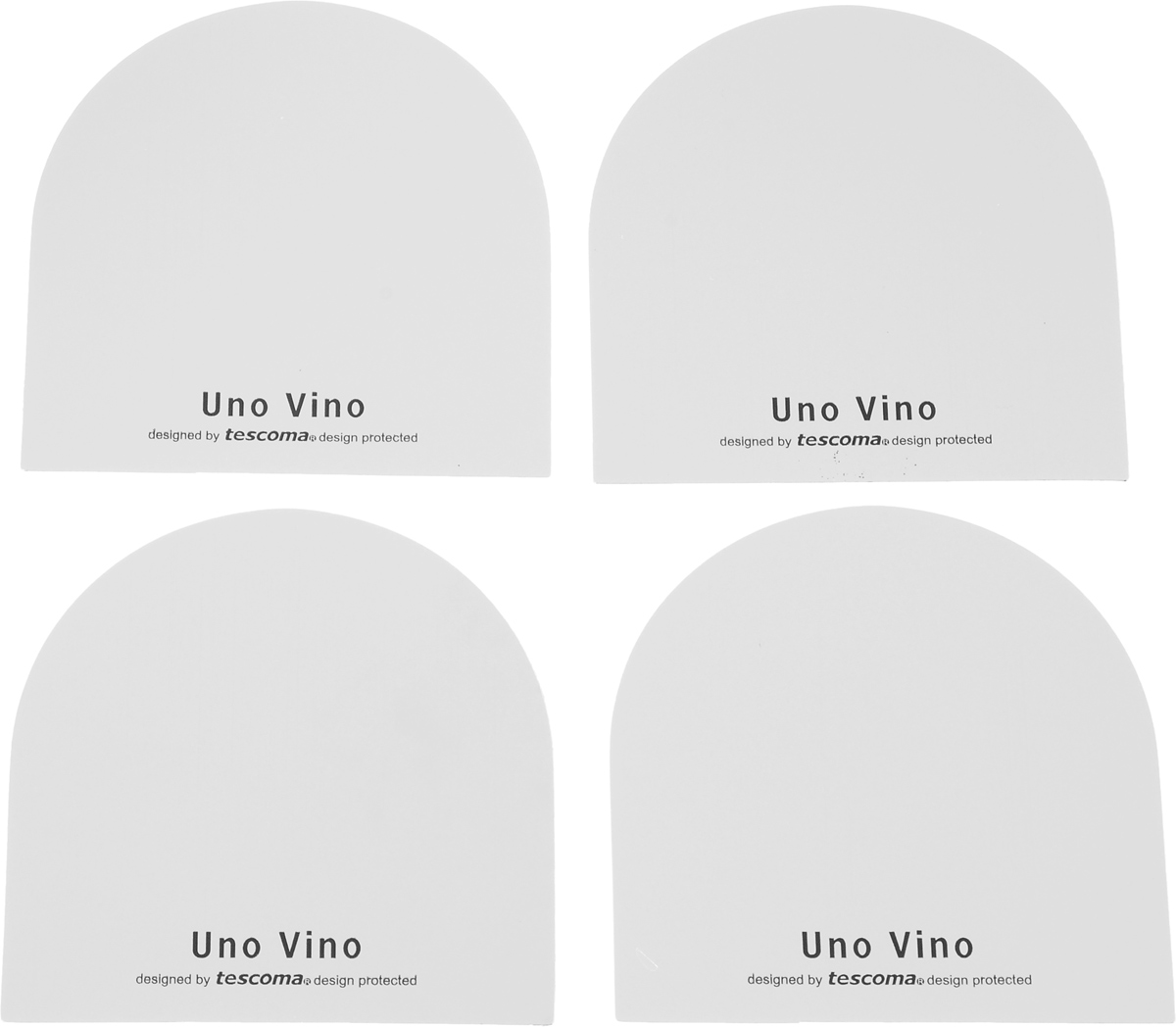 Воронка гибкая Tescoma Uno Vino, 4 шт695524Гибкая воронка Tescoma Uno Vino выполнена из высококачественного алюминия. Такая воронка позволит разлить вино из бутылки, не пролив ни капли.Способ применения: воронку скрутите и вставьте ровным краем в горлышко бутылки такимобразом, чтобы она выступала на 3 см. Изделие пригодно для всех стандартных типов винных бутылок и предназначенодля многоразового использования.