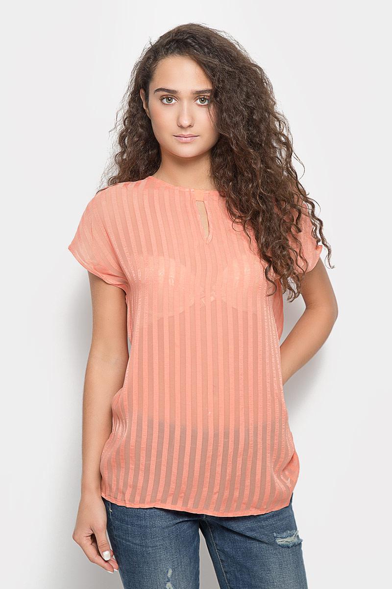 Блузка женская Mexx, цвет: коралловый. MX3020975_WM_BLS_002. Размер M (44/46) цена 2017