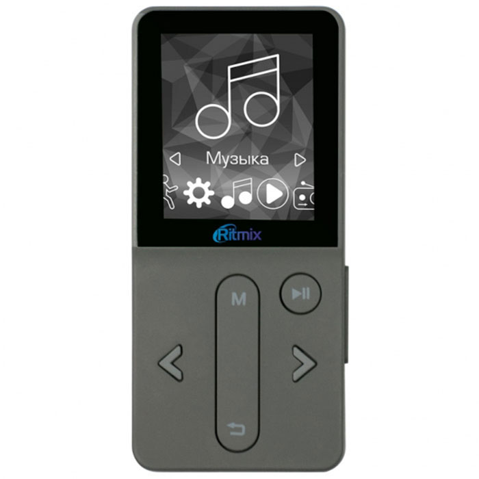 Ritmix RF-4910 4Gb, Dark Gray MP3-плеер sony nwz e583 4gb black mp3 плеер