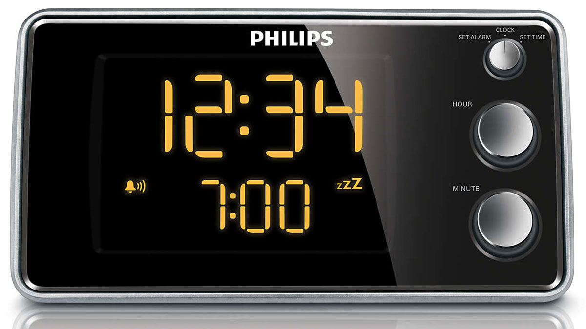 Philips AJ3551/12 радио будильник - Радиобудильники и проекционные часы