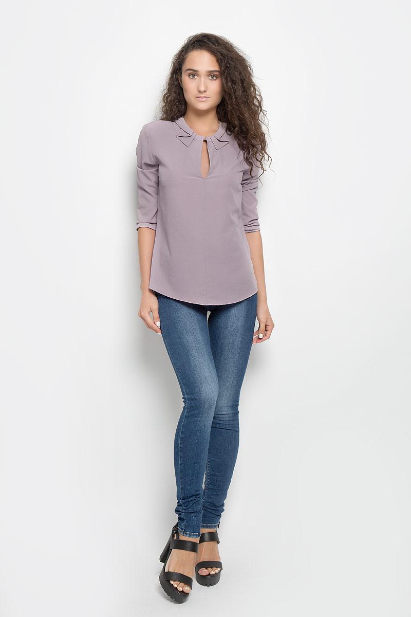 Блузка женская Mexx, цвет: сиреневый. MX3002125_WM_BLG_009. Размер S (42/44) блузка женская mexx цвет молочный mx3002363 wm blg 010 размер l 48 50