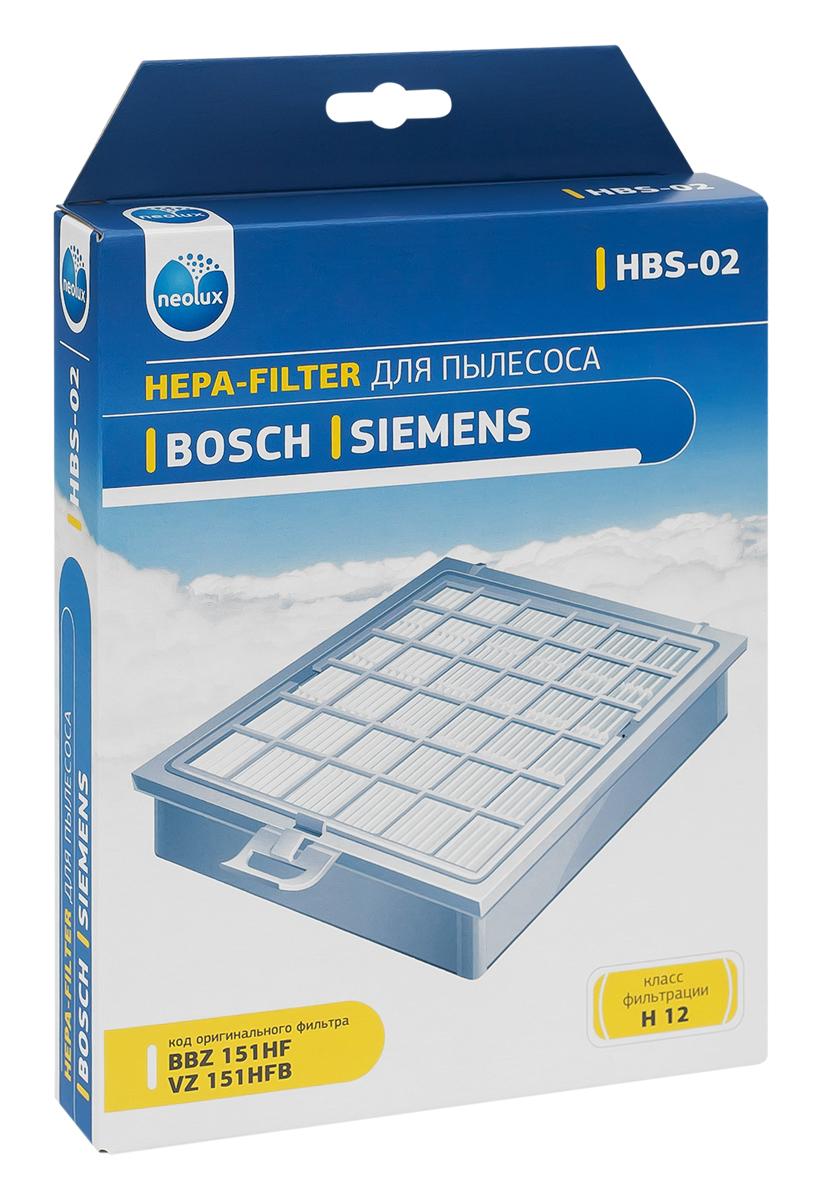 Neolux HBS-02 HEPA-фильтр для пылесоса Bosch аксессуары для пылесоса sanyo 1400ar bsc wd95 wd90 wd80