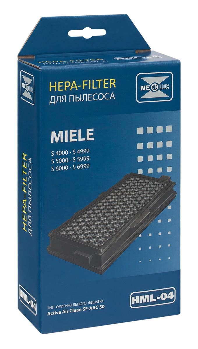 Neolux HML-04 HEPA-фильтр для пылесоса MieleHML-04HEPA фильтр Neolux HML-04 предназначен для пылесосов MIELE. Отфильтровывает неприятные запахи благодаря специальному слою активированного угля. Необходим при наличии в доме домашних животных или для курящих людей.