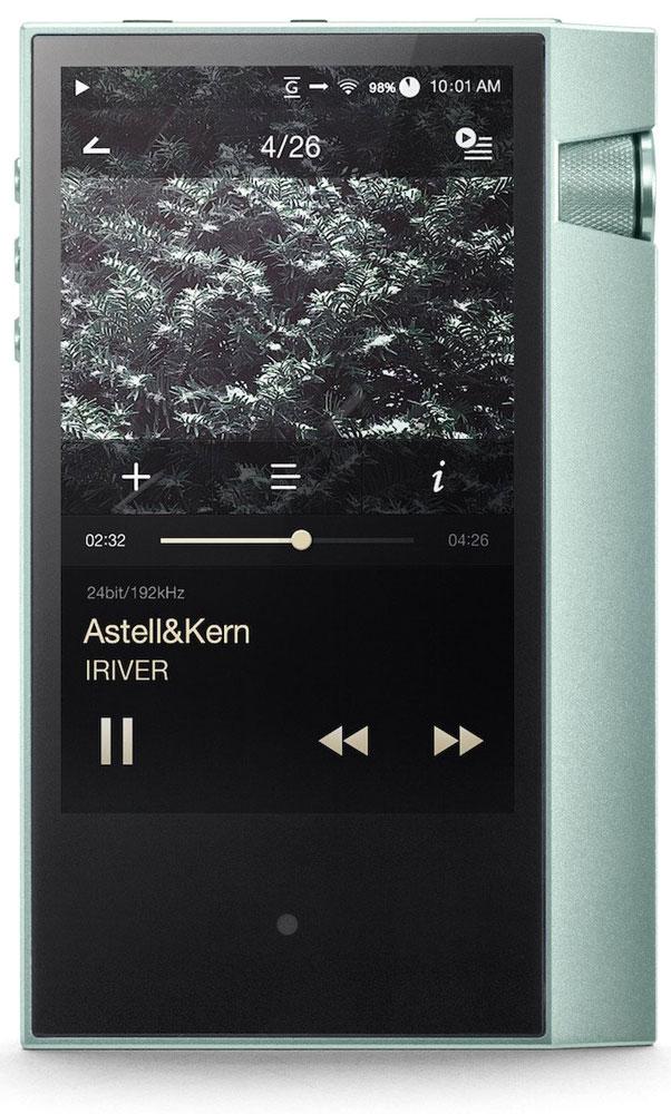 Astell&Kern AK70, Mint Hi-Res плеер15118569Плеер Astell&Kern AK70 воспроизводит музыку с разрешением в 24 бита 192 кГц в побитовом режиме. Для 32-битной музыки применяется снижение разрешения и частоты дискретизации с помощью специального конвертора. Кроме того, формат DSD 64/128 также поддерживается с помощью конвертации в PCM.ЦАП AK70, основанный на доказавшем своё превосходство чипе CS4398 компании Cirrus Logic, в течение многих лет использовался в аудиоустройствах класса Hi-Fi и в плеерах Astell&Kern второго поколения.Плеер оснащён 4-пиновым балансным выходом 2,5 мм. В отличие от небалансного, балансный выход способен удалять шумы, которые могут появляться в связке оригинальный сигнал + усиленный сигнал, и обладает способностью улучшать выходные характеристики благодаря двойному сигналу.Плеер может быть использован вместе различными балансными наушниками, в том числе сделанными специально для Astell&Kern. Он также поддерживает небалансный вывод через 3-пиновый разъём 3,5 мм (2,3 Vrms), совместимый с большим количеством Hi-Fi-наушников.AK70, первый среди плееров Astell&Kern, поддерживает вывод аудио через USB-порт. Вы можете подключать разнообразные портативные усилители с помощью выхода USB. Плеер может транслировать записи в нативном DSD с помощью технологии DoP. Для подключения тех портативных усилителей, которые не обладают поддержкой технологии DoP, используется конвертация DSD в PCM.Astell&Kern AK70 может быть использован как USB-ЦАП, выступая в качестве звуковой карты при подключении к компьютеру (PC или Mac) через USB-порт. Зачастую в случае использования звуковой карты ПК приходится проходить через сложный процесс для воспроизведения DSD-файлов. AK70 может сделать это просто, достаточно подключиться к компьютеру.Данная модель позволяет пользователям с легкостью копировать музыку с CD-дисков, подключаясь к AK CD-Ripper. Плеер унаследовал от AK500N функцию автокоррекции ошибок CD-трaкта и автовведение метаданных (ID3-тэги) без изменений с помощью базы Grac