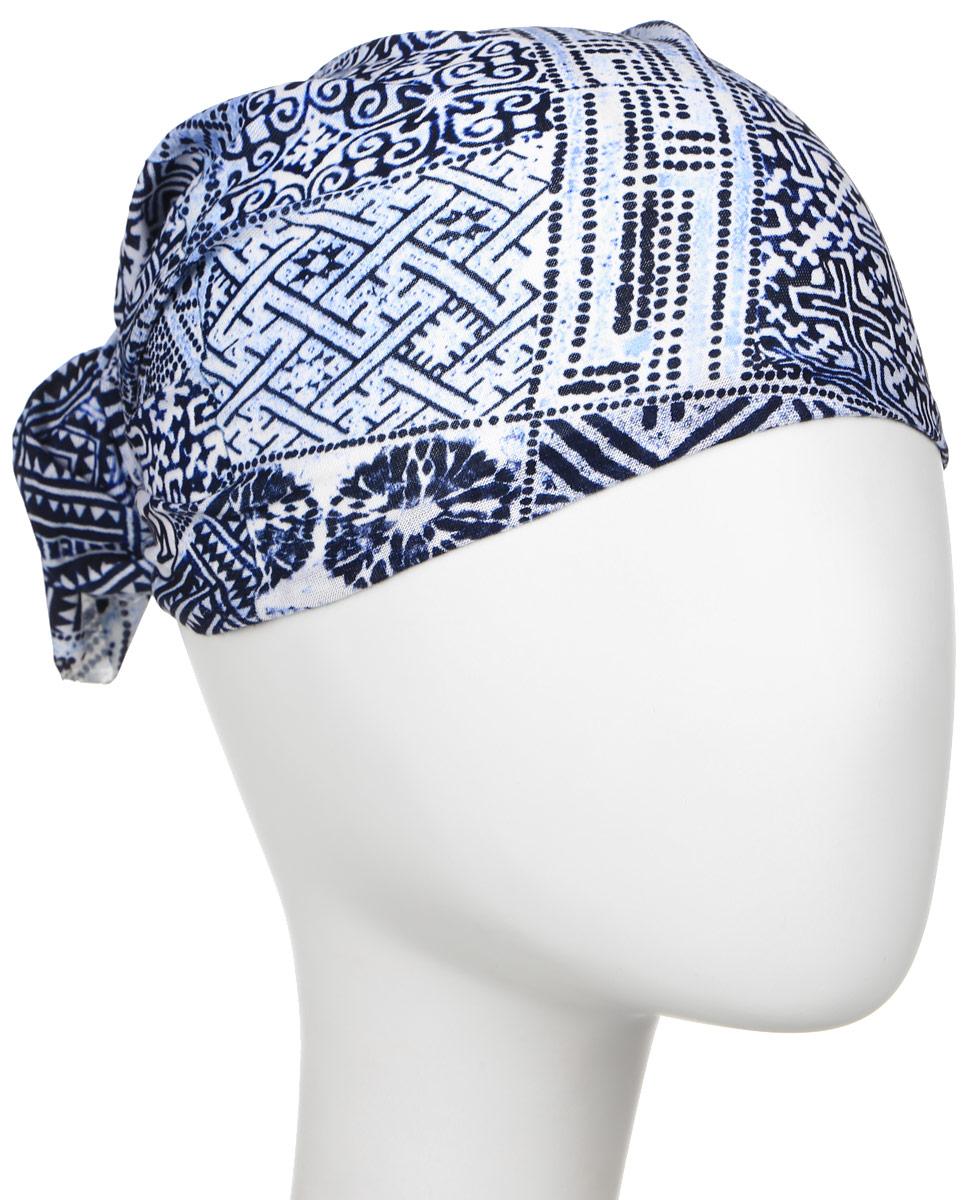 Бандана Buff Original Himba, цвет: синий, голубой. 108871.00. Размер универсальный108871.00Многофункциональная Buff бандана Original Himba выполнена из мягкой микрофибры. Благодаря материалу Coolmax, влага моментально отводится наружу и высыхает, также обеспечивается 95% защита от ультрафиолетовых лучей. Специальная четырехканальная структура материала Coolmax Extreme формирует систему, которая выводит влагу наружу от кожи к внешнему слою ткани. Благодаря своевременному отводу влаги поддерживается нормальная температура тела, и снижается риск перегрева. Ткань обработана ионами серебра, обеспечивающими длительный антибактериальный эффект и предотвращающими появление запаха. Материал не теряет цвет и эластичность, не требует глажки. Бесшовная бандана-труба оформлена абстрактными фигурами и логотипом бренда. Модель можно носить на шее и на голове, как шейный платок, маску, бандану, шапку и подшлемник. Изделие очень эластично и принимает практически любую форму. Свойства материала позволяют использовать бандану в любое время года, при занятиях любым видом спорта, активного отдыха, туризма или рыбалки.