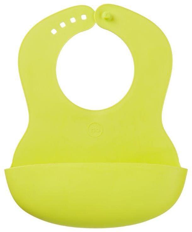 Happy Baby Нагрудник мягкий Baby Plastic Lime защитные накладки для дома happy baby фиксатор для двери door stopper