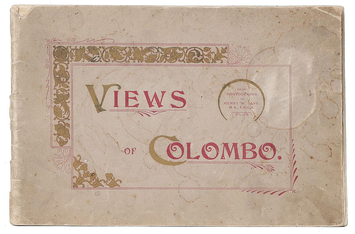 Views of Colombo0120710Коломбо, начало XX века. Издание H. W. Cave and Co.Альбом с 16 видами.Типографская обложка.Сохранность удовлетворительная. Обложка и 1 тетрадь отделены от книжного блока.Вашему вниманию предлагается альбом с 16 фотографическими видами бывшей столицы Шри-Ланки Коломбо. На фотографиях запечатлены достопримечательности города, а также повседневная жизнь его жителей.Не подлежит вывозу за пределы Российской Федерации.