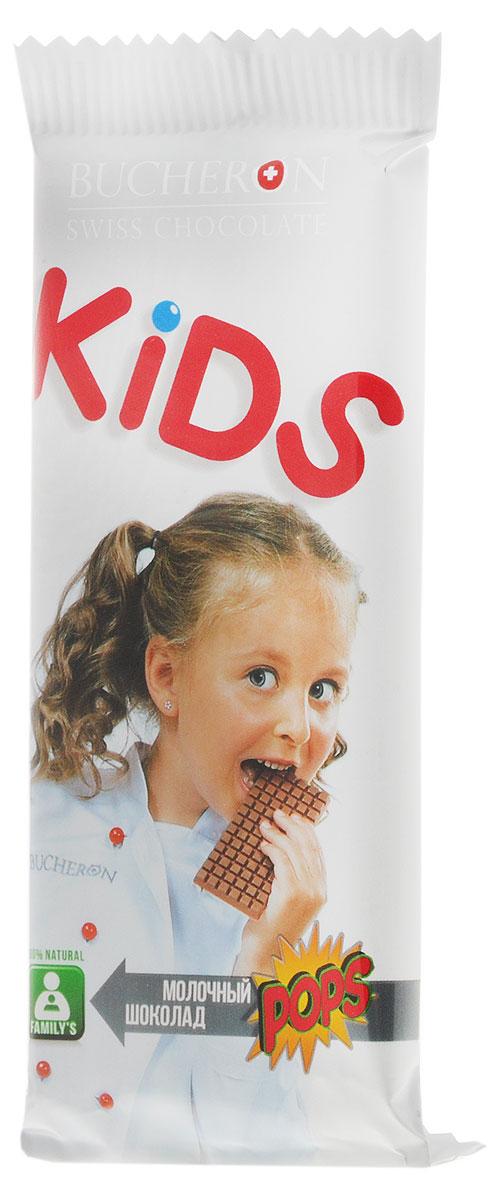 Bucheron Kids молочный шоколад со злаками, 50 г14.0492Сочетание швейцарского молочного шоколада и воздушных злаков – полезное и вкусное лакомство для взрослых и детей.