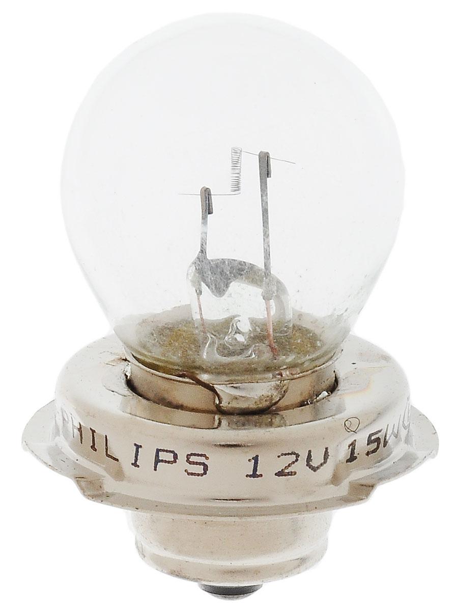 Лампа для мотоциклов галогенная Philips Vision Moto, для фар, цоколь S3 (P26s), 12V, 15W12008BW (бл.1)Галогенная лампа Philips Vision Moto произведена из запатентованного кварцевого стекла с УФфильтром Philips Quartz Glass. Кварцевое стекло Philips в отличие от обычного твердого стеклавыдерживает гораздо большее давление смеси газов внутри колбы, что препятствует быстромуиспарению вольфрама с нити накаливания. Кварцевое стекло выдерживает большой перепадтемператур, при попадании влаги на работающую лампу изделие не взрывается и продолжаетработать. Лампы Philips Vision Moto дают на 30% больше света по сравнению со стандартными лампами.Они создают превосходный световой поток, отличаются приемлемой ценой и соответствуютстандартам качества для оригинального оборудования. Благодаря улучшенному распределениюсвета лампы Philips Vision Moto способны освещать дорогу на большем расстоянии, повышаябезопасность и комфорт вождения.