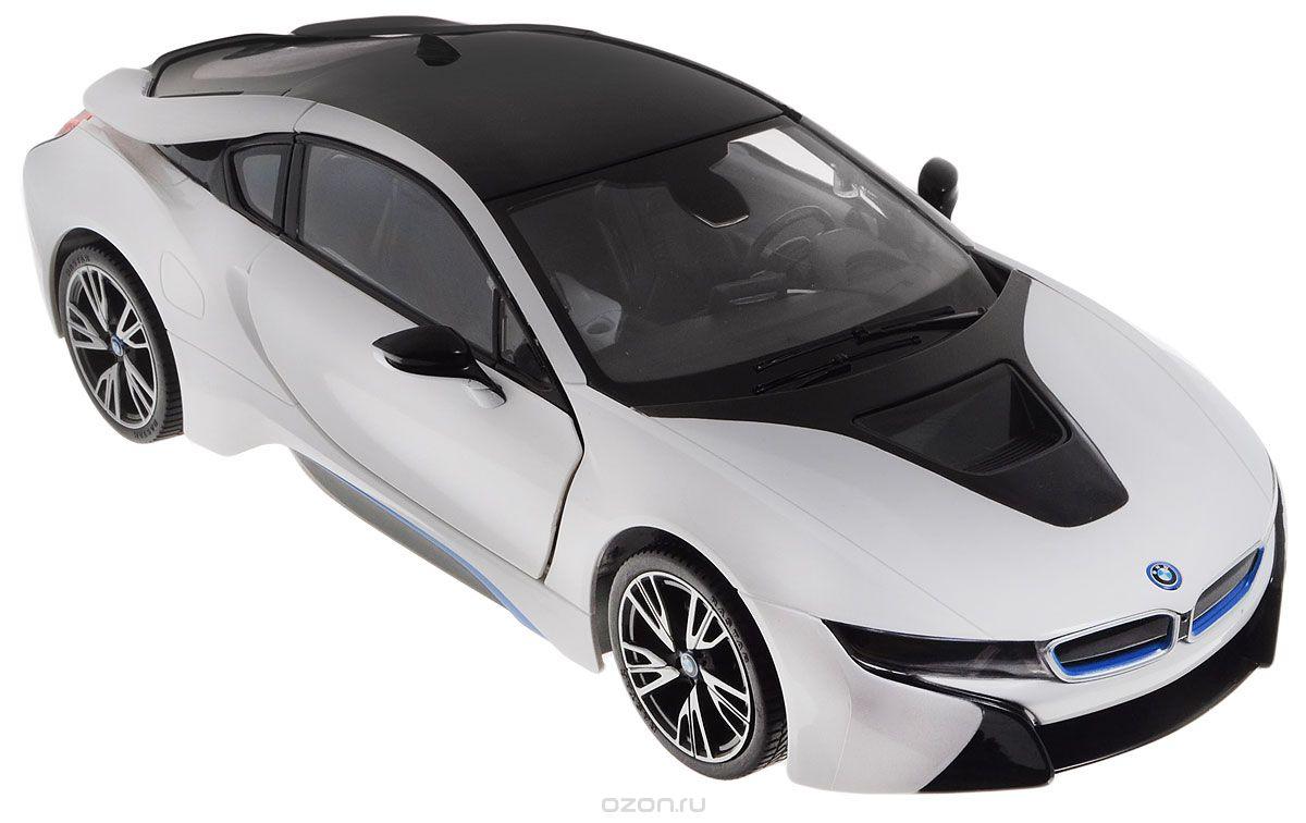 Rastar Радиоуправляемая модель BMW i8 цвет белый черный масштаб 1:14 rastar радиоуправляемая модель bmw i8 цвет черный масштаб 1 14