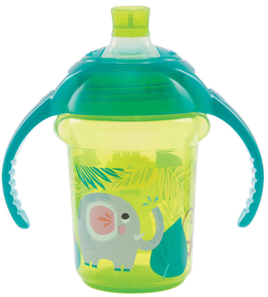 Munchkin Чашка-поильник Click Lock от 6 месяцев цвет салатовый бирюзовый 207 мл xbox