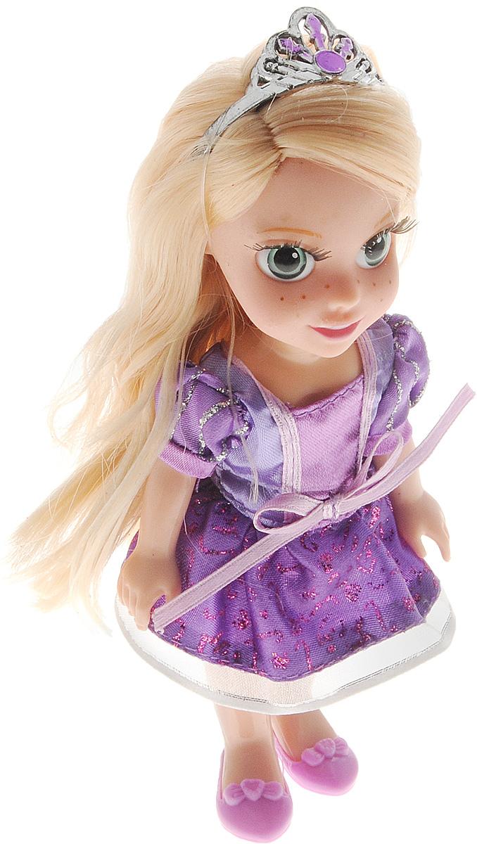 Карапуз Мини-кукла озвученная Рапунцель куклы карапуз кукла полина 30см озвученная