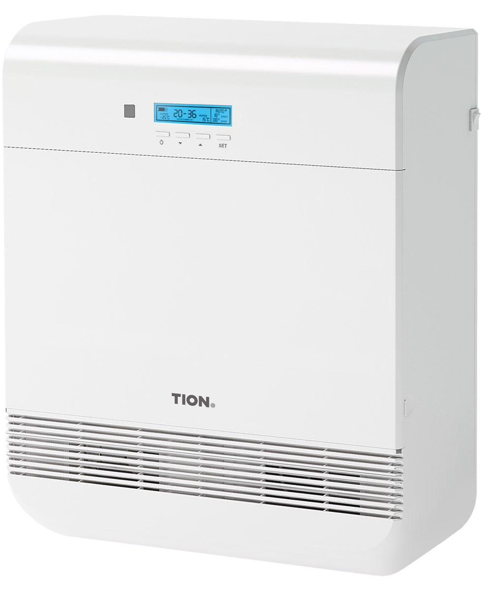 Tion O2 Mac бризерTion O2 MACTion O2 Mac - компактная вентиляция для дома и офиса, которая не требует прокладки воздуховодов в помещении. Имеет функцию глубокой многоступенчатой очистки и подогрева воздуха с климат-контролем. Бризер рассчитан на условия стандартного современного города: с наличием источников загрязнения воздуха (автодороги, промышленные предприятия) и зимними температурами ниже 0°С. Оптимальное решение для жителей городов. Отличие версии Mac заключатся в поддержке продвинутой системы управления климатической техники Tion MagicAir, которая поможет сделать идеальным микроклимат вашего дома (продается отдельно).Диапазон уличных температур: от -40…+50°CАвтоматическая заслонкаКласс защиты: IP34Максимум нагрева приточного воздуха: +25°СФункция отключения нагреваАвтоматическое поддержание заданной температуры нагрева воздуха