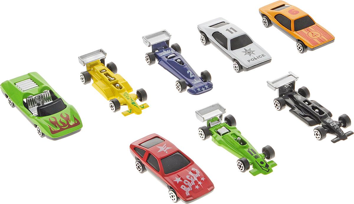 Shantou Набор машинок City Racer 8 шт G100-H36063 машина shantou daxiang трасса 47779
