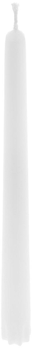 Набор свечей Duni, цвет: белый, высота 24 см, 10 шт151069Набор Duni, состоящий из 10 свечей конической формы, выполнен из 100% стеарина. Duni - создатели атмосферы вдохновения, сюрпризов и праздников для вас и ваших детей! Используя современные инновации, высококачественные материалы, оригинальный дизайн, свечи делают вашу трапезу незабываемым и волшебным праздником.Такой набор украсит интерьер вашего дома или офиса и наполнит его атмосферу теплом и уютом.Высота свечи (без учета фитиля): 24 см.Диаметр основания свечи: 2,2 см.