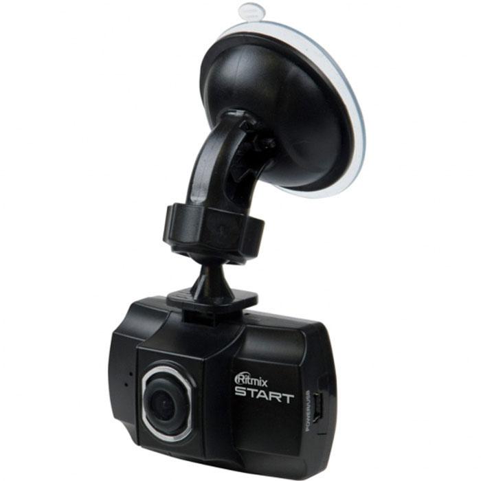 Ritmix AVR-150 Start видеорегистраторAVR-150 (RITMIX START)Ritmix AVR-150 Start - это надёжный видеорегистратор, который обеспечивает высокое качество съёмки со скоростью 30 кадров в секунду. Благодаря компактным размерам устройство удобно располагается за зеркалом заднего вида и не мешает обзору.Удобная функция SOS позволяет во время видеозаписи защитить текущий файл от перезаписи. Также во время видеозаписи доступна функция MUTE - отключение и включение микрофона. Встроенный аккумулятор обеспечивает корректное сохранение и завершение записи в аварийной ситуации при отсутствии внешнего питания.Сенсор: 1/4 CMOSСкорость записи: 30 к/cОбъектив: 4-слойная линзаПроцессор: General PlusФорматы видео: AVI