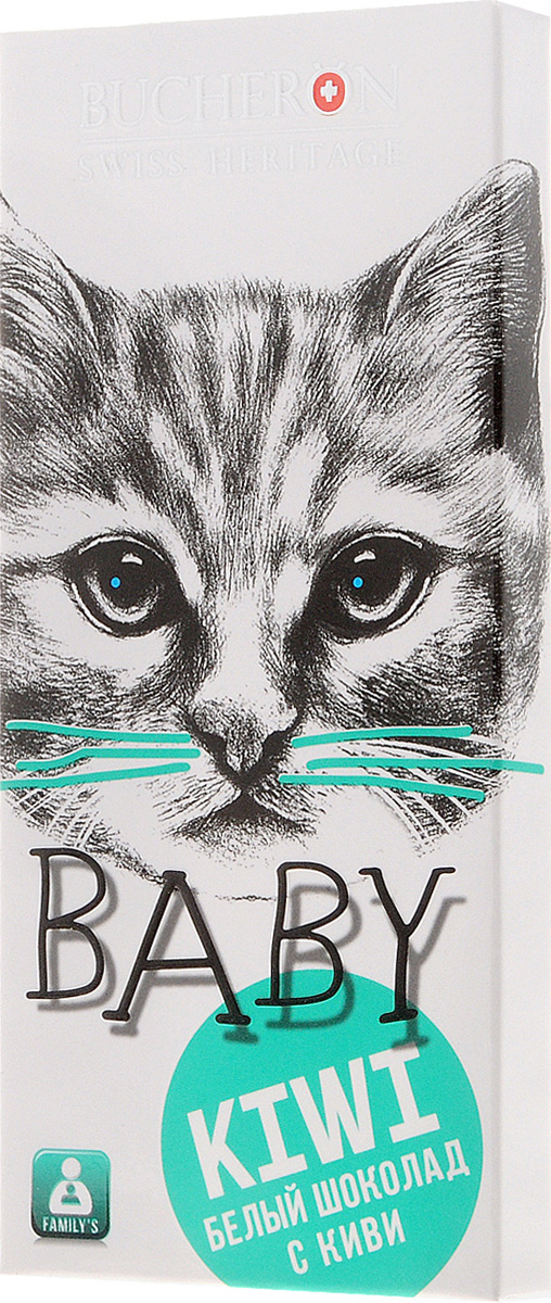 Bucheron Baby белый шоколад с кусочками киви, 50 г new baby дети младенческой бассейн шеи float надувная труба кольцо безопасности
