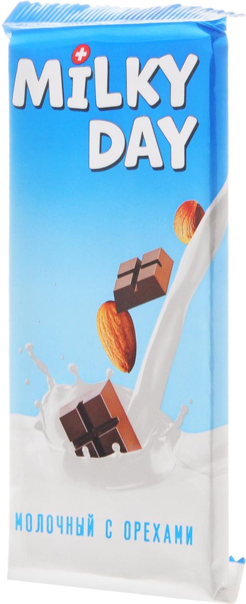 Milky Day кондитерская плитка молочная со злаками и орехами, 90 г холст 40x55 printio будь добрее 6