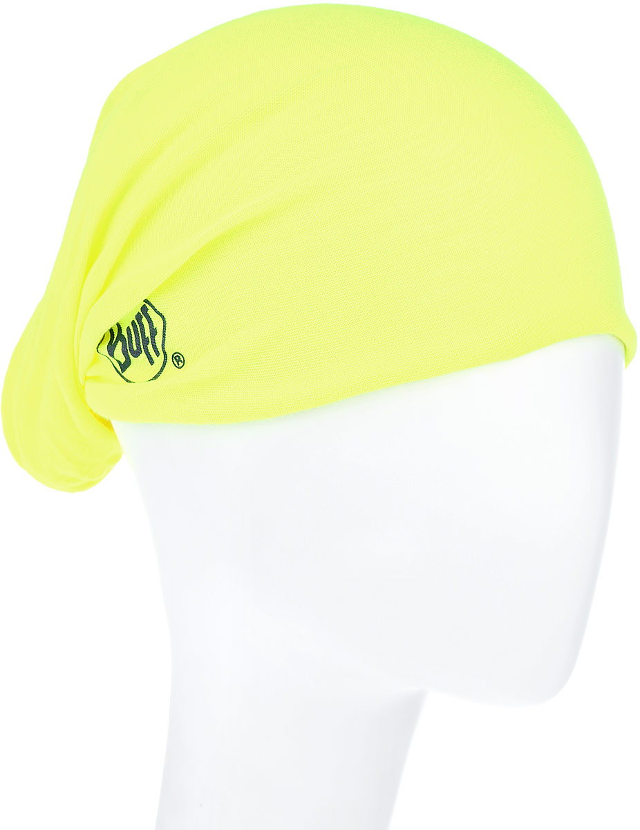 Бандана Buff Original Yellow Fluor, цвет: салатово-желтый. 108837.00. Размер универсальный108837.00Многофункциональная Buff бандана Original Yellow Fluor, выполненная из мягкой микрофибры. Прекрасно отводит влагу, защищает от УФ-лучей. Материал изделия контролирует микроклимат в холодную и теплую погоду. Ткань обработана ионами серебра, обеспечивающими длительный антибактериальный эффект и предотвращающими появление запаха. Материал не теряет цвет и эластичность, не требует глажки. Бесшовная бандана-труба выполнена в одной цветовой гамме и оформлена надписью бренда. Модель можно носить на шее и на голове, как шейный платок, маску, бандану, шапку и подшлемник. Изделие очень эластично и принимает практически любую форму. Свойства материала позволяют использовать бандану в любое время года, при занятиях любым видом спорта, активного отдыха, туризма или рыбалки.