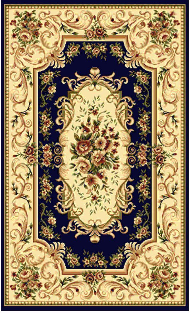 Ковер Kamalak tekstil, прямоугольный, цвет: синий, 100 x 150 см. УК-0361УК-0361Ковры-паласы выполнены из полипропилена. Ковры обладают хорошими показателями теплостойкости и шумоизоляции. Являются гиппоалергенными. За счет невысокого ворса ковры легко чистить. Вам придется по душе широкая гамма цветов и возможность гармонично оформить интерьер. Практичный и устойчивый к износу ворс - от постоянного хождения не истирается, не накапливает статическое электричество. Структура волокна в полипропиленовых моделях гладкая, поэтому грязь не может выесться, на ворсе она скапливается с трудом. Полипропилен не впитывает влагу, отталкивает водянистые пятна. Уход: Самый простой способ избавить изделие от грязи – пропылесосить его с обеих сторон (лицевой и изнаночной). Влажная уборка с применением шампуней и моющих средств не противопоказана. Если шерсти и шёлку универсальные чистящие составы не подходят, то для синтетики они придутся в самый раз. Хранить их нужно рулоном, не складывая «салфеткой». При надлежащем уходе синтетический ковёр прослужит долго, не утратив ни яркости узора, ни блеска ворса, ни его упругости.