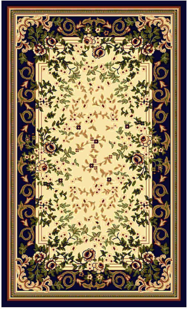Ковер Kamalak tekstil, прямоугольный, 100 x 150 см. УК-0113 ковер kamalak tekstil ук 0511