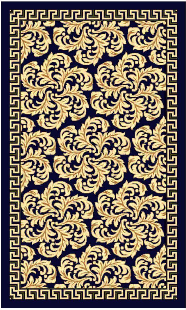 Ковер Kamalak tekstil, прямоугольный, цвет: синий, 50 x 100 см. УК-0492УК-0492Ковры-паласы выполнены из полипропилена. Ковры обладают хорошими показателями теплостойкости и шумоизоляции. Являются гиппоалергенными. За счет невысокого ворса ковры легко чистить. Вам придется по душе широкая гамма цветов и возможность гармонично оформить интерьер. Практичный и устойчивый к износу ворс - от постоянного хождения не истирается, не накапливает статическое электричество. Структура волокна в полипропиленовых моделях гладкая, поэтому грязь не может выесться, на ворсе она скапливается с трудом. Полипропилен не впитывает влагу, отталкивает водянистые пятна. Уход: Самый простой способ избавить изделие от грязи – пропылесосить его с обеих сторон (лицевой и изнаночной).Влажная уборка с применением шампуней и моющих средств не противопоказана. Если шерсти и шёлку универсальные чистящие составы не подходят, то для синтетики они придутся в самый раз.Хранить их нужно рулоном, не складывая «салфеткой».При надлежащем уходе синтетический ковёр прослужит долго, не утратив ни яркости узора, ни блеска ворса, ни его упругости.